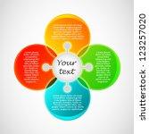 business presentation diagram....   Shutterstock .eps vector #123257020