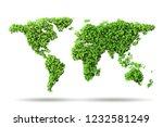 green environment and ecology...   Shutterstock . vector #1232581249