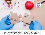 health and care concept.... | Shutterstock . vector #1232583340