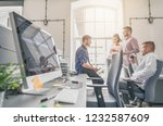 developing programming and... | Shutterstock . vector #1232587609