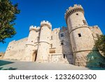 grand master palace in medieval ... | Shutterstock . vector #1232602300