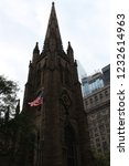 wall street church | Shutterstock . vector #1232614963