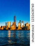 view of the skyline of downtown ... | Shutterstock . vector #1232628760