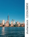 view of the skyline of downtown ... | Shutterstock . vector #1232628850