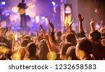 party people rock concert.... | Shutterstock . vector #1232658583