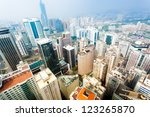 overhead of the sunset over the ...   Shutterstock . vector #123265870