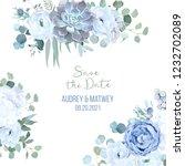 Dusty Blue Rose  Echeveria...