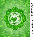 love icon inside realistic... | Shutterstock .eps vector #1232705566