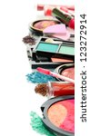 beautiful decorative cosmetics  ...   Shutterstock . vector #123272914