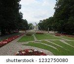 saxon garden in warsaw  poland | Shutterstock . vector #1232750080