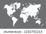 world map vector | Shutterstock .eps vector #1232752213