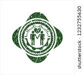 green gay men love icon inside... | Shutterstock .eps vector #1232755630
