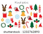 find pairs of identical... | Shutterstock .eps vector #1232762893