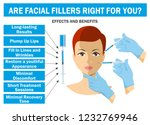 filler injections will suit you ... | Shutterstock .eps vector #1232769946