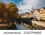 tuebingen in the stuttgart city ... | Shutterstock . vector #1232794600
