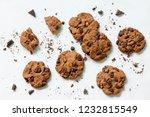 baked christmas cookies....   Shutterstock . vector #1232815549