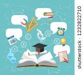 education  open book  effective ... | Shutterstock .eps vector #1232822710