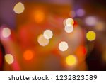 abstract colorful lights blur...   Shutterstock . vector #1232823589
