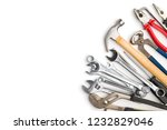 set of tools. hand tools for... | Shutterstock . vector #1232829046