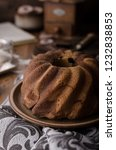 monkey bread with chocolate ... | Shutterstock . vector #1232838853