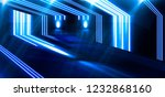 the background is an empty hall ... | Shutterstock . vector #1232868160