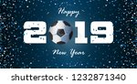 happy new year 2019 banner with ...