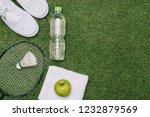 pair of sport shoes  fresh... | Shutterstock . vector #1232879569