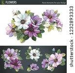 Bouquet Of Wildflower Aster...