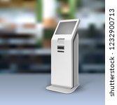 mockup payment information... | Shutterstock .eps vector #1232900713