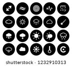 weather overcast icons set  ... | Shutterstock .eps vector #1232910313