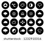 weather overcast icons set  ... | Shutterstock .eps vector #1232910316