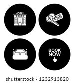 hotel service set   travel sign ... | Shutterstock .eps vector #1232913820