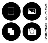 equipment photography icons set ... | Shutterstock .eps vector #1232915026