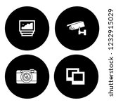 equipment photography icons set ... | Shutterstock .eps vector #1232915029