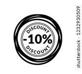 10  discount icon emblem ...