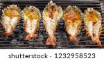 king river prawns are cooked... | Shutterstock . vector #1232958523