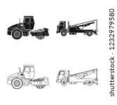 bitmap design of build and... | Shutterstock . vector #1232979580