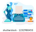 vector illustration of the... | Shutterstock .eps vector #1232980453