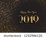 happy new year background with... | Shutterstock .eps vector #1232986120
