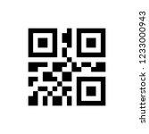 illustration of qr code | Shutterstock .eps vector #1233000943