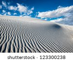 Sand Ripples In The Dunes At...