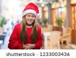 young beautiful girl wearing... | Shutterstock . vector #1233003436