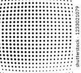 abstract halftone background of ... | Shutterstock .eps vector #1233021079