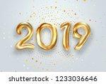creative background  gold... | Shutterstock . vector #1233036646