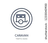 caravan sign icon. caravan sign ...   Shutterstock .eps vector #1233040900
