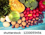 products containing a large... | Shutterstock . vector #1233055456