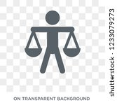 balance in human resources icon....   Shutterstock .eps vector #1233079273