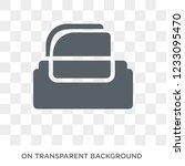 tissue icon. tissue design... | Shutterstock .eps vector #1233095470
