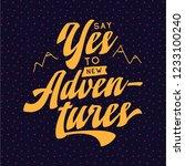 inspirational quote  motivation....   Shutterstock .eps vector #1233100240