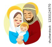 Nativity Scene Of Baby Born...